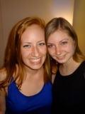 Luckily, I found Erin! Roomie reunion in Paris began smoothly!