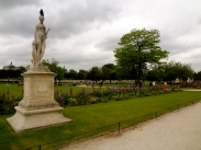 We strolled through the Tuileries gardens like the locals. At least, I think locals do that.