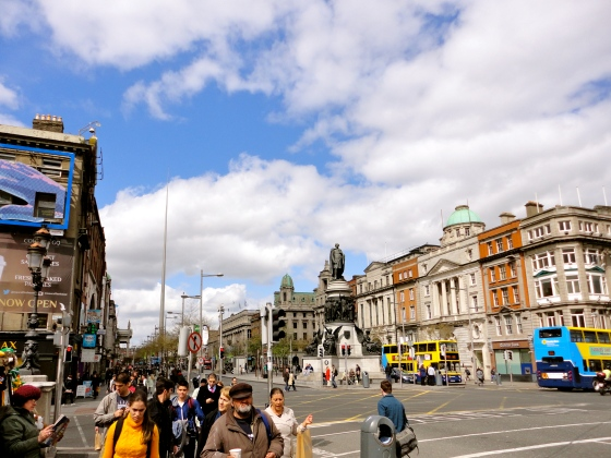 The Spire and O'Connell Street