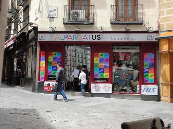 Alpargatas in Spain!