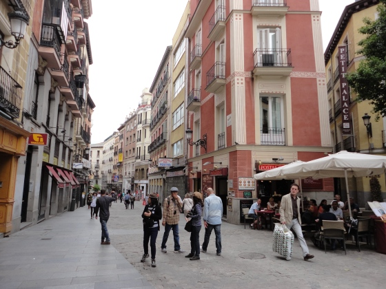 Streets in Spain