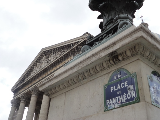 The Pantheon, located conveniently just blocks away from our hostel!