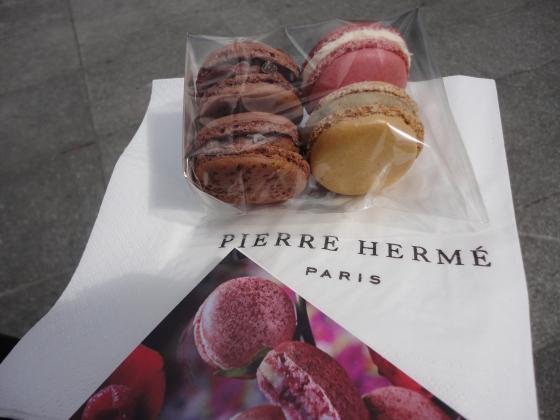 Pierre Herme macaroons