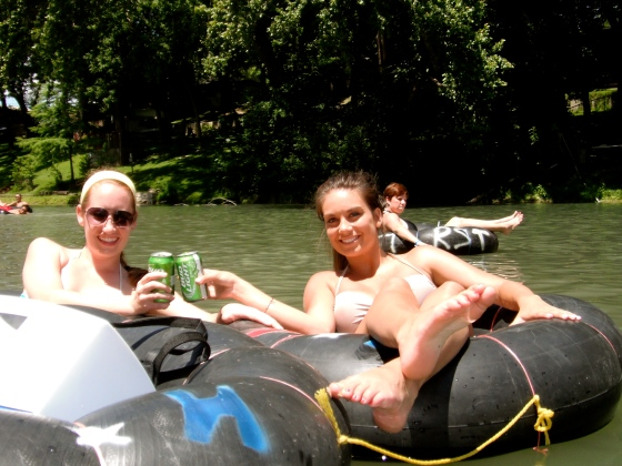 Got the tubes. Got the cooler. Just add water, and you're set!
