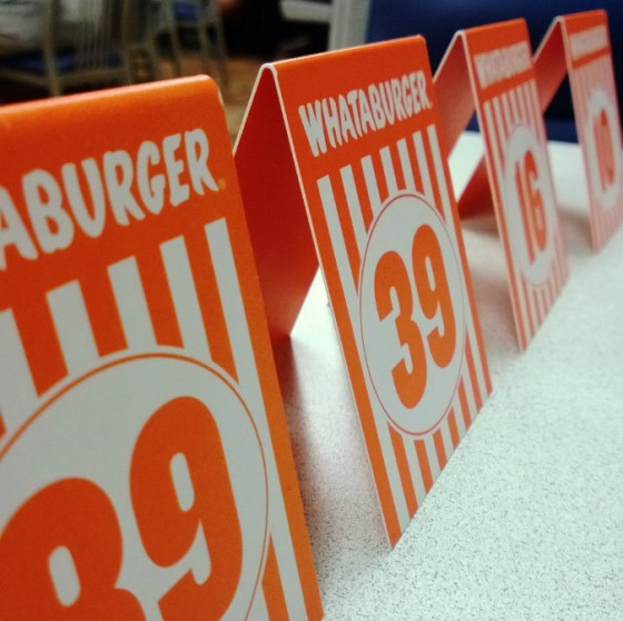 make a necessary Whataburger run