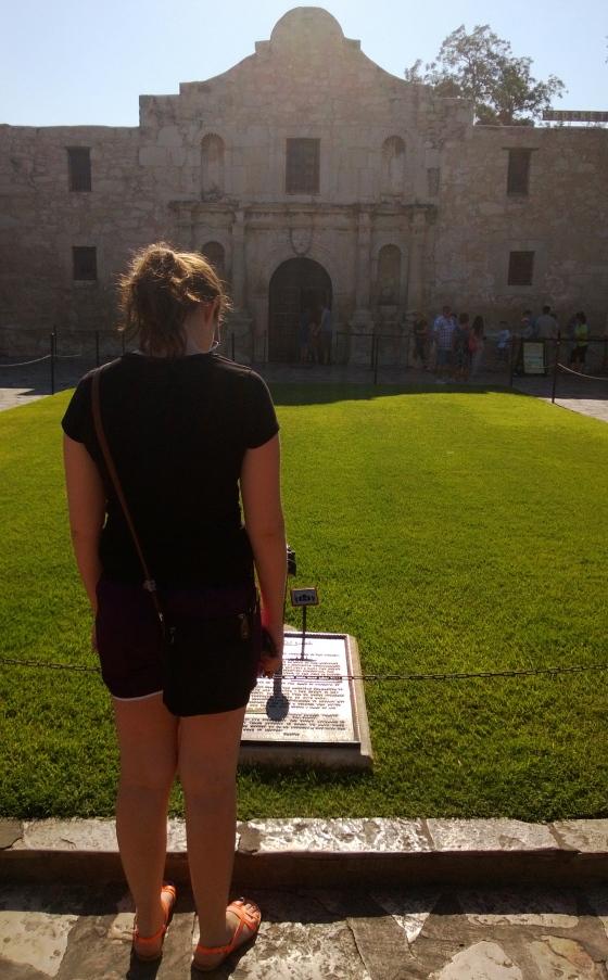 find the Alamo!