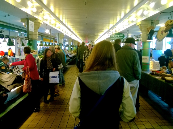 Pike's Place strollin'