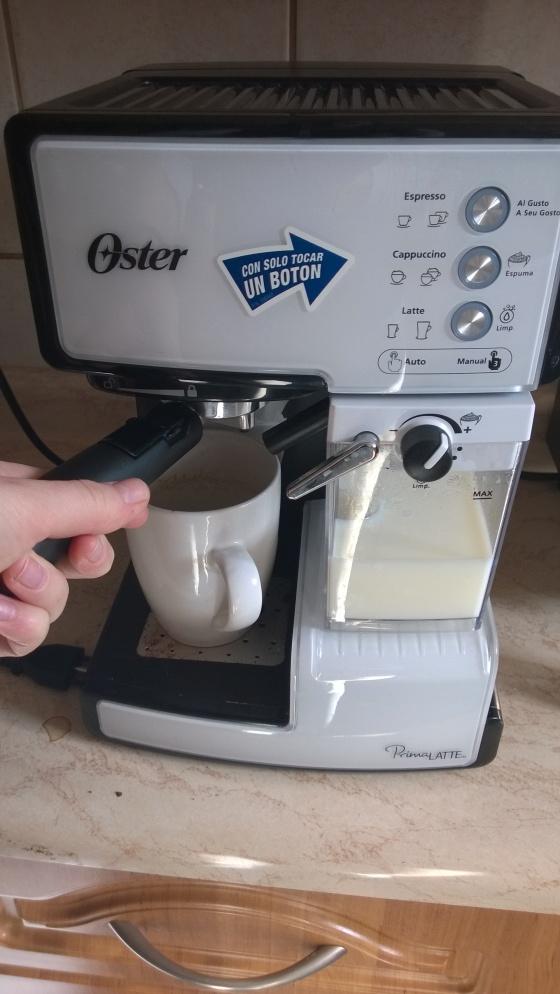 ... Like your struggles in using a Chilean espresso machine.